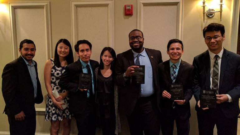 Our students received a number of awards during the College of Engineering Celebration of Excellence