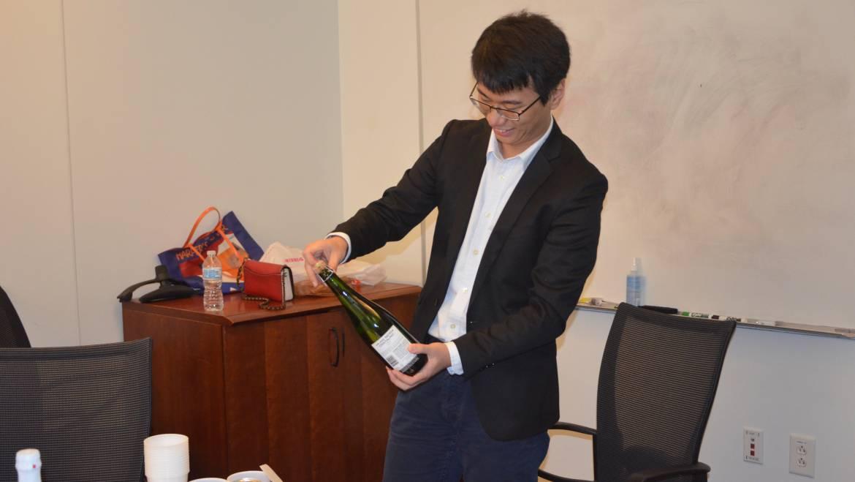 Congratulations Dr. Jia Ge!