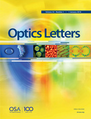 Dr. Mable Fok is serving as a Topical Editor of Optics Letters