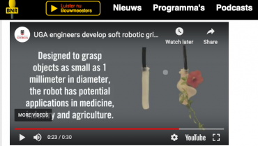 Our Twining Plant Inspired Soft Robot is Reported by several online media